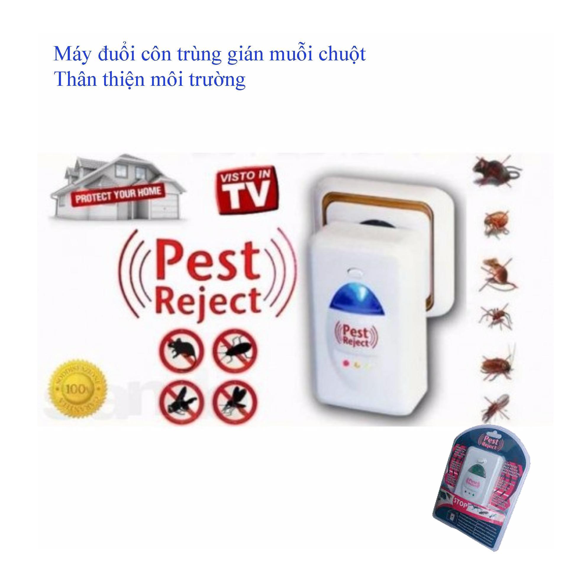 Trị Muỗi Cắn, Máy Đuổi Muỗi Gián, Chuột, Chỉ Cần Cắm Điện, Thân Thiện Môi Trường , Giá Tốt Ngay Hôm Nay.