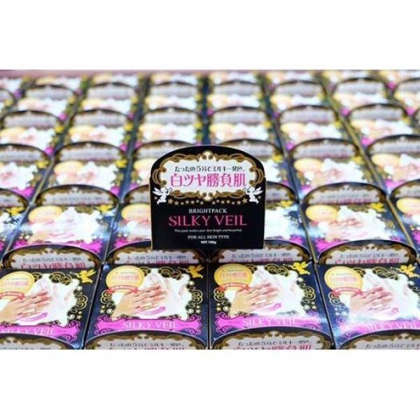 [Lấy mã giảm thêm 30%] Kem trắng da Silky Veil của Nhật 100g giá rẻ