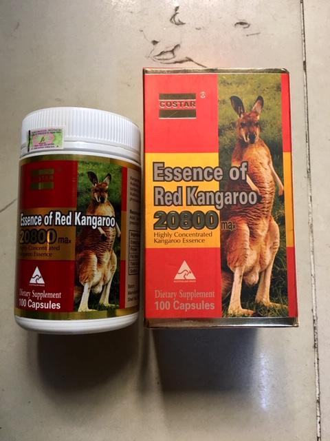 Viên uống nâng cao sinh lý Costar Essence of Red Kangaroo 20800 Max