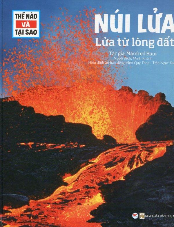 Mua Thế Nào Và Tại Sao: Núi Lửa - Lửa Từ Lòng Đất - Minh Khánh,Manfred Baur