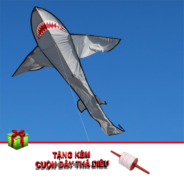 Hình ảnh Diều Thả Cá Mập Dài 170cm Kèm Cuộn Dây Legaxi - KA01