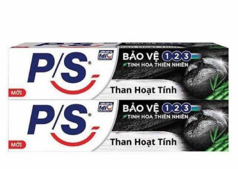 Compo 5 kem đánh răng Ps than hoạt tín 30g