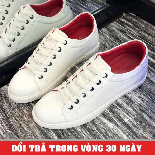 Giày Sneaker Nam Trắng Mẫu Mới (Giá Siêu Sốc) - KINGSHOES (KS21) giá rẻ