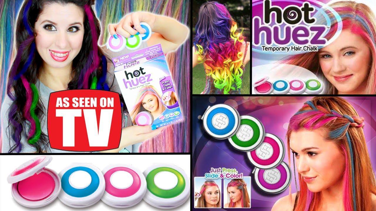 phấn nhuộm tóc 4 màu thời trang hot huez