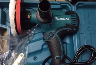 máy đánh bóng ô tô makita gv6010-máy đánh bóng xe ô tô mini 6 CẤP ĐỘ thumbnail