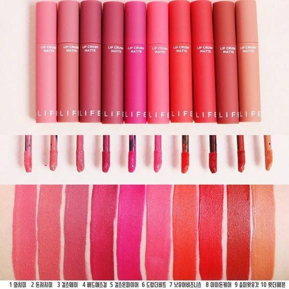 Son Kem Lì Its Skin Life Color Lip Crush Matte tốt nhất