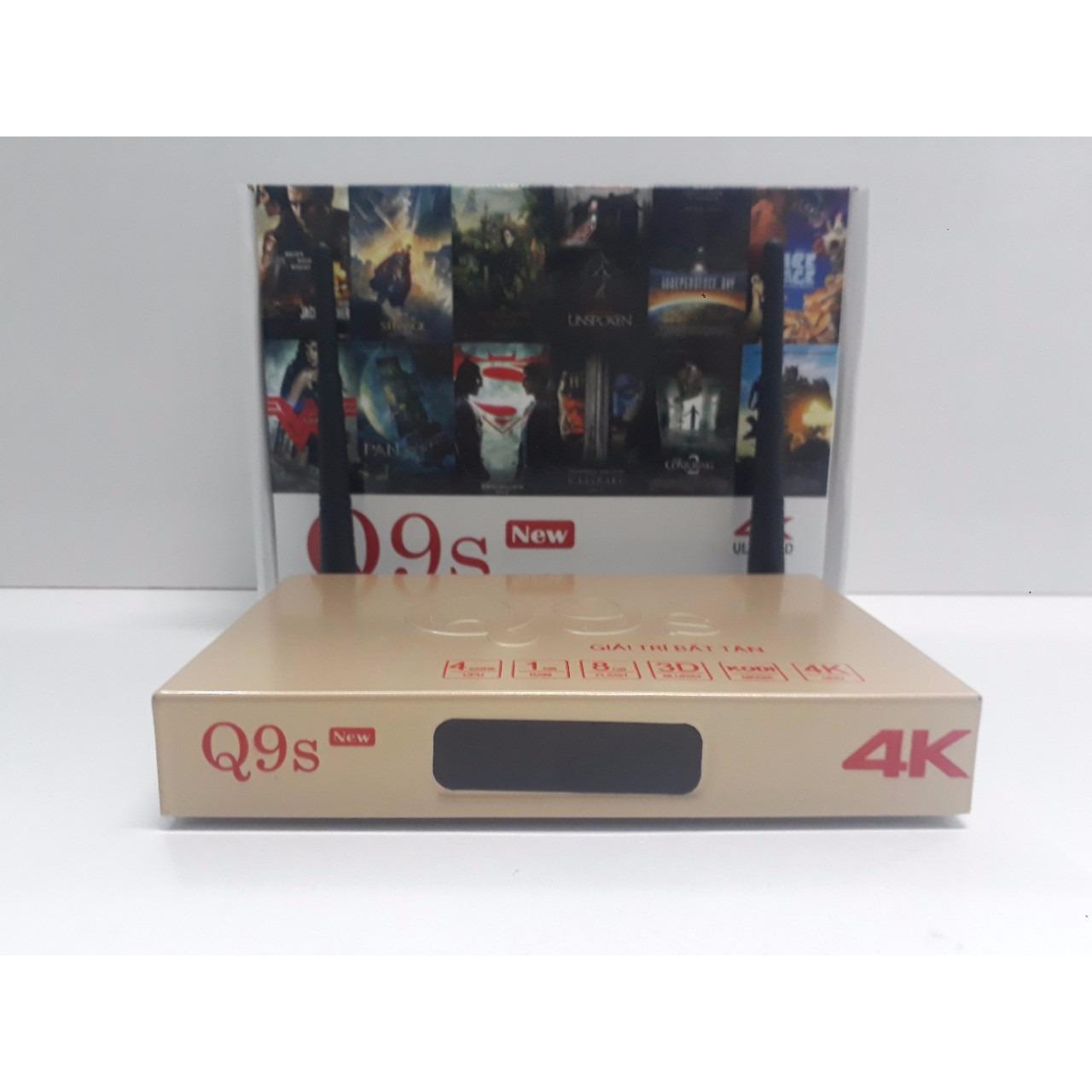 Bán Androi Tivi Box Q9S New Tặng Code Vip No Brand Nguyên