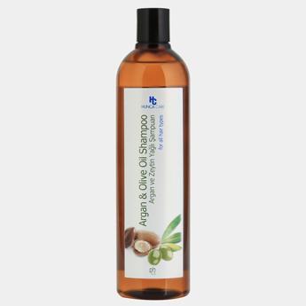 Dầu Gội Phục Hồi Và Bảo Vệ Tóc Chiết Xuất Hunca Care Olive And Argan Oil (700ml)
