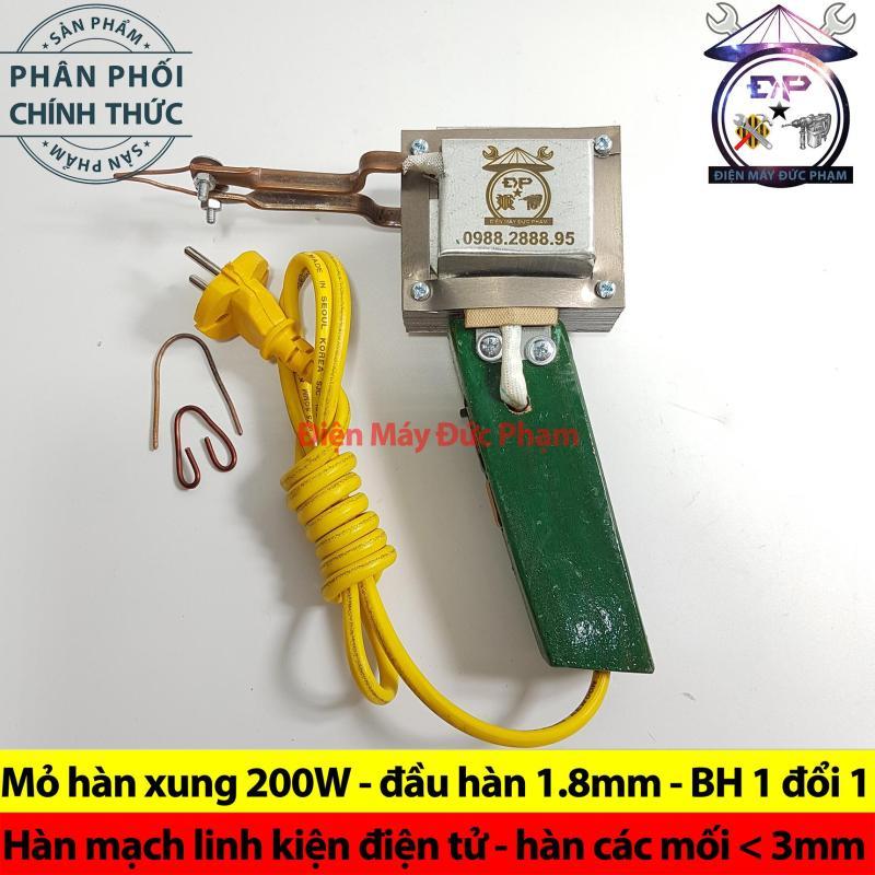 Mỏ hàn xung 200W ( hàn linh kiện điện tử , mạch lớn )