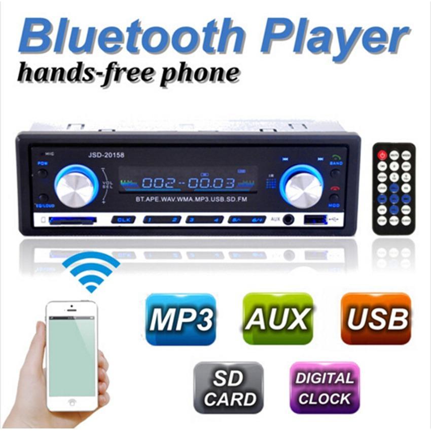 Đầu nghe nhạc MP3 cho Ô tô hỗ trợ Bluetooth kiêm Đài FM JSD-20158