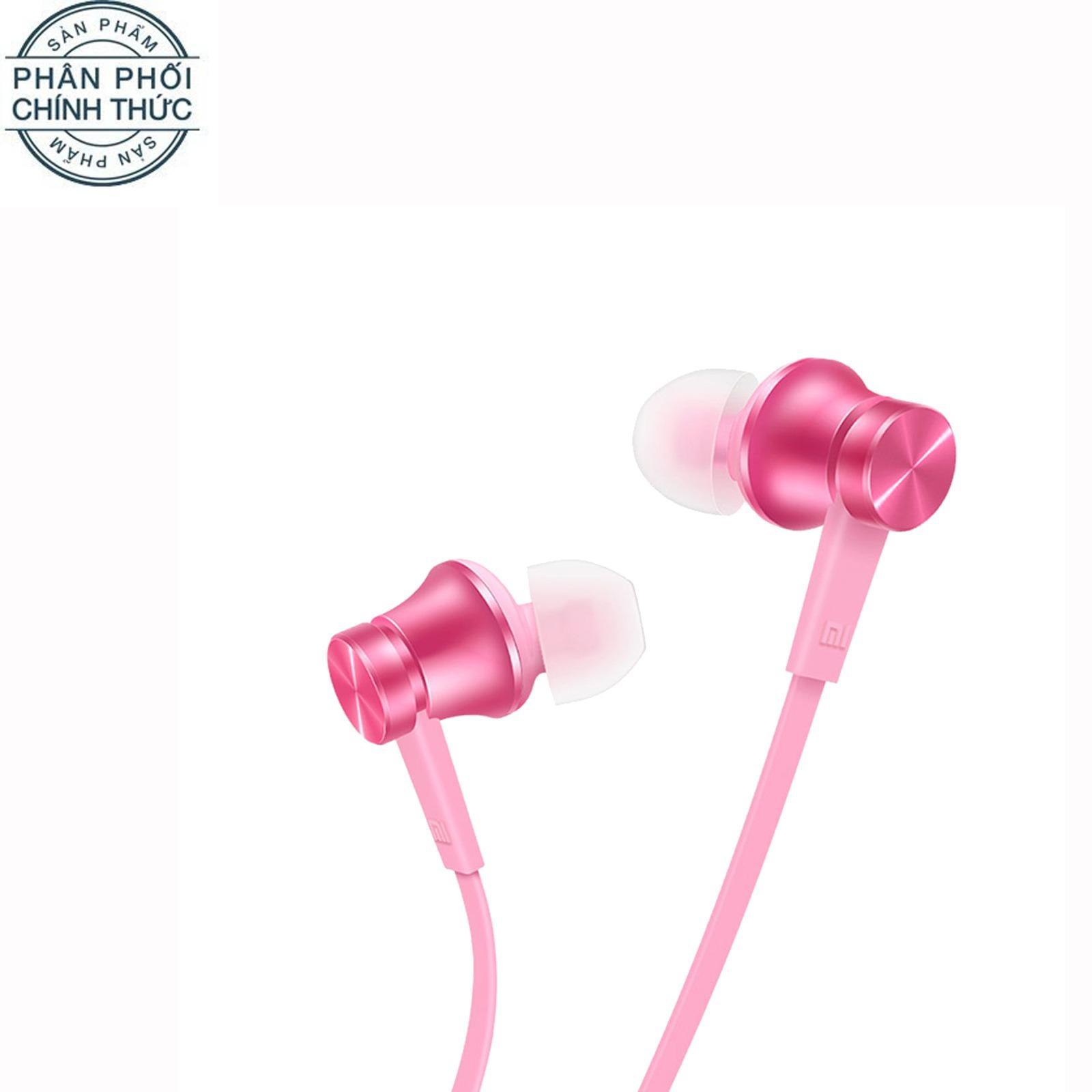 Giá Bán Tai Nghe Nhet Tai Xiaomi Mi In Ear Headphones Basic 2016 Hồng Hang Phan Phối Chinh Thức Trực Tuyến