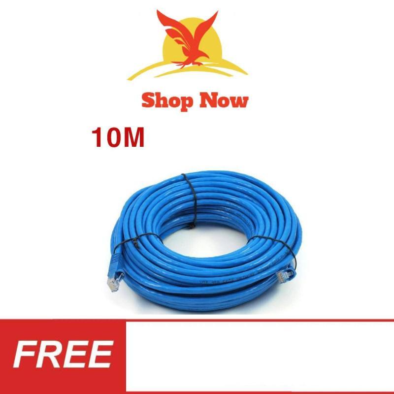 Bảng giá Dây Cáp mạng internet/ LAN S-N 2 đầu đúc sẵn 10M loại tốt Phong Vũ