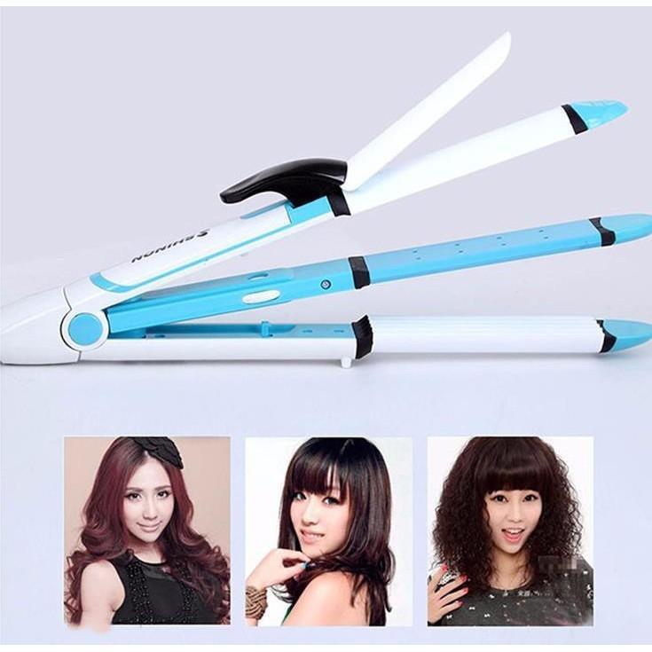 Máy uốn duỗi dập xù tóc 4 in 1 Shinon SH-8005 chính hãng
