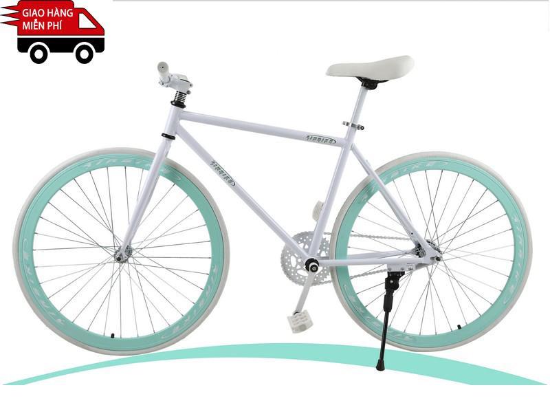 Mua Kachi - Xe đạp Fixed Gear Air Bike MK78 (trắng)