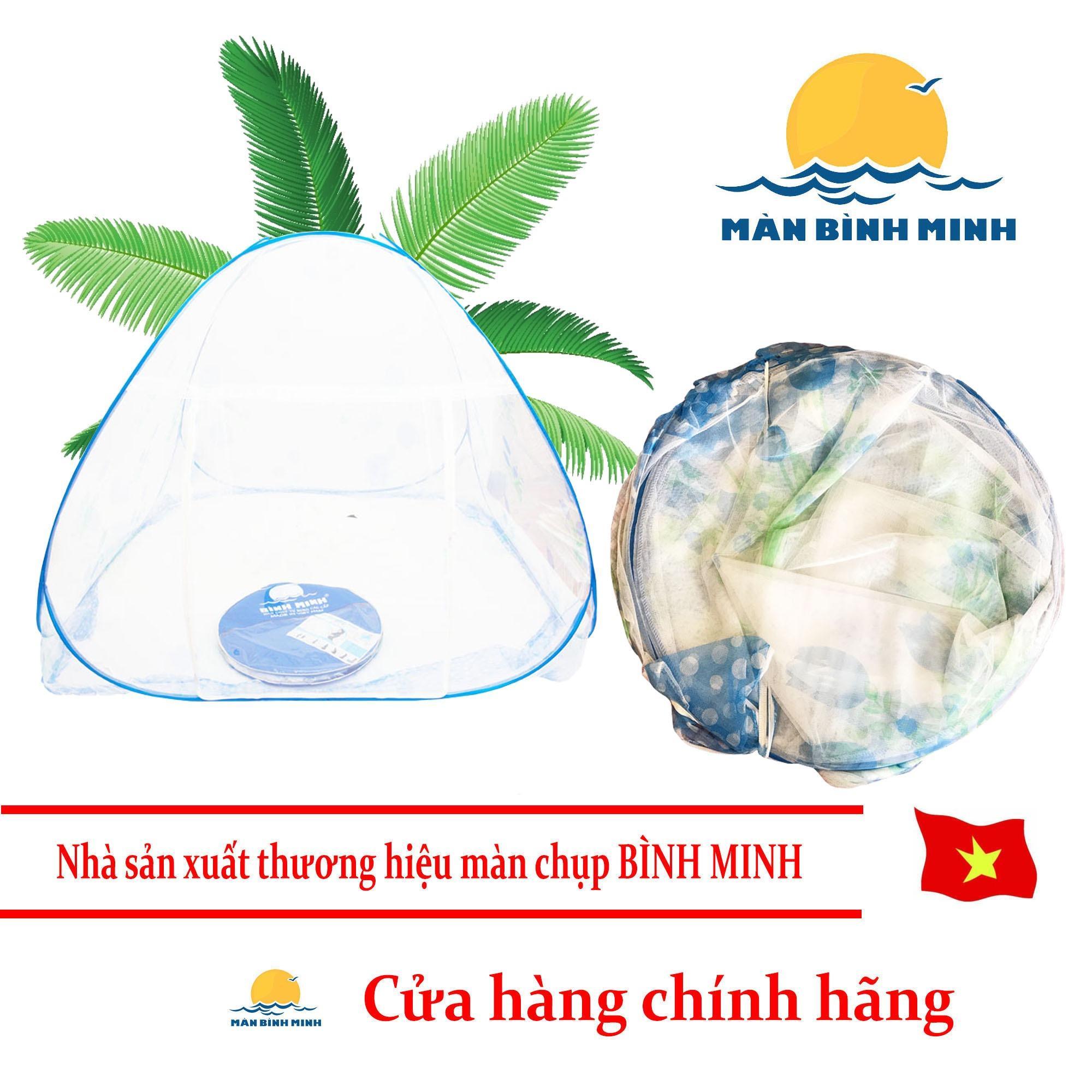Bán Man Chụp Tự Bung Chống Muỗi 2 Cửa 1M8 X 2M Binh Minh Hang Việt Nam Màn Chụp Bình Minh Trong Việt Nam