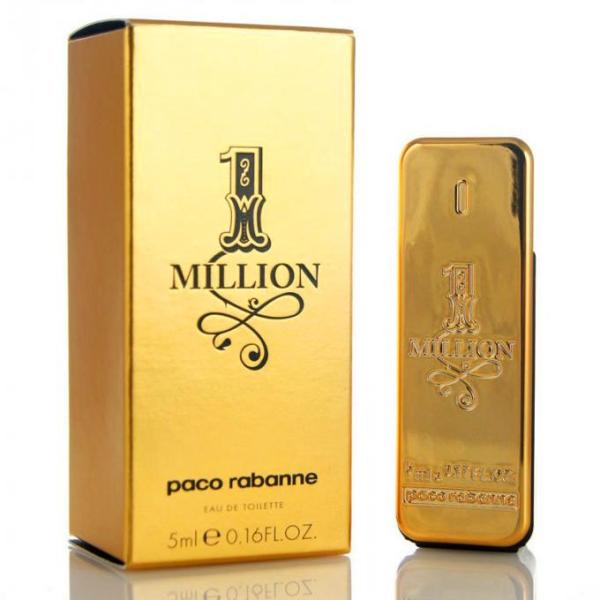 Nước hoa nam PACO RABANNE 1 Million Eau De Toilette 5ml
