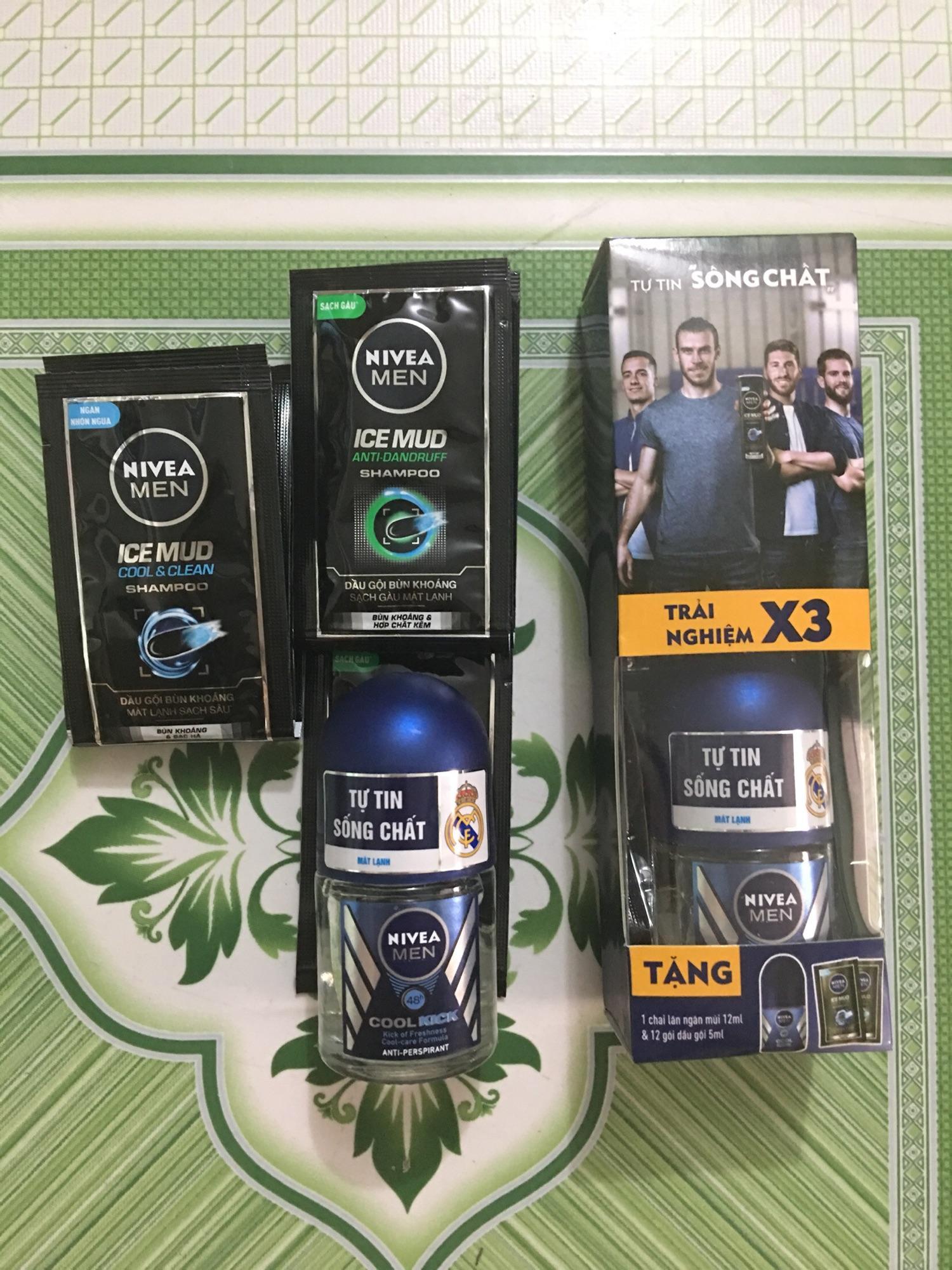Hình ảnh Bộ quà tặng Nivea cho nam