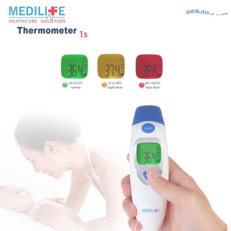 máy đo nhiệt kế hồng ngoại, Nhiệt kế điện tử & hồng ngoại | Đo trán, đo tai cho bé Mẫu 299 bán chạy