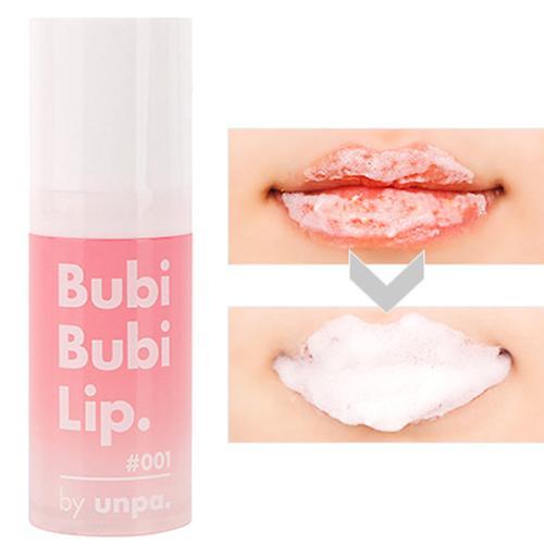 Tẩy da chết môi sủi bọt Bubi Bubi Lip Unpa Hàn Quốc 12ml