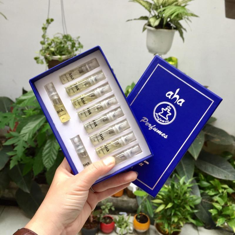 Combo 10 mẫu thử 2ml dạng xịt nước hoa nam AHAPERFUMES nhập khẩu