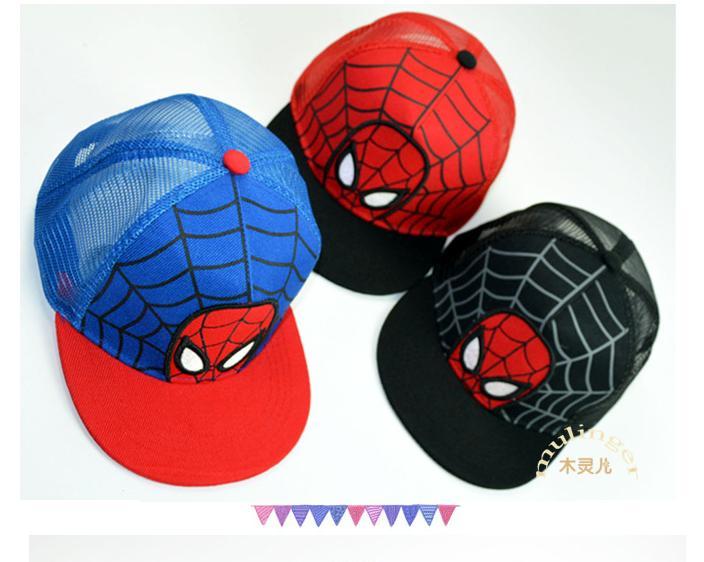 Hình ảnh Mũ siêu nhân nhện bé từ 3 đến 10 tuổi