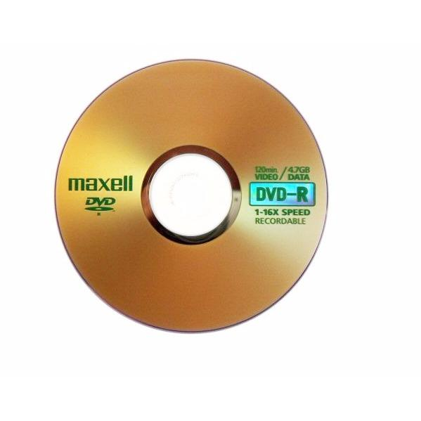 Hình ảnh Bộ 10 đĩa trắng DVD MAXCELL 4.7G