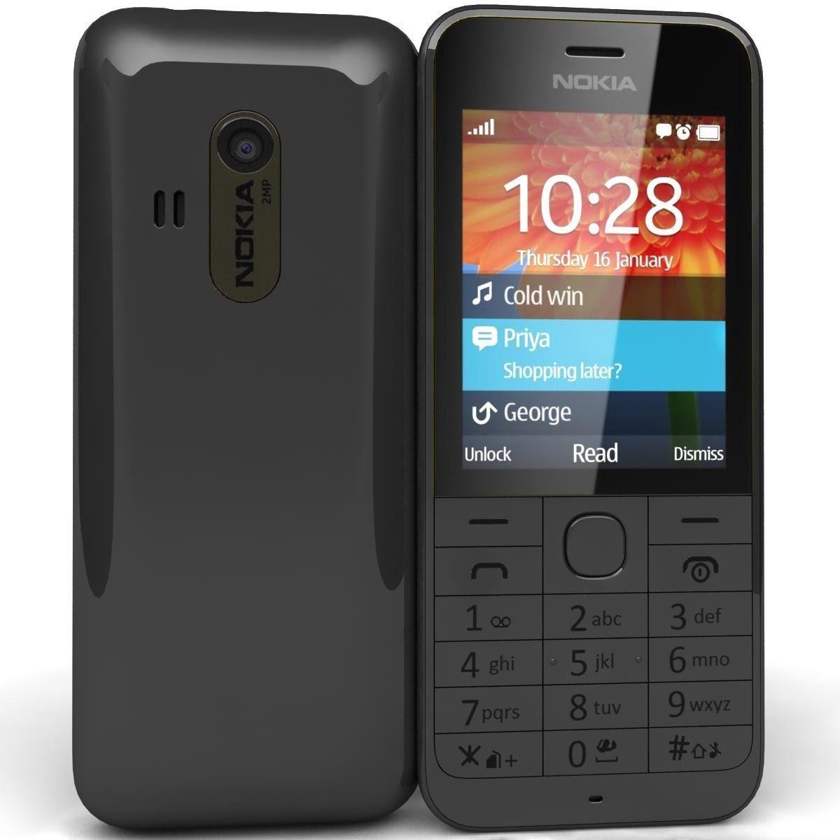 Mua Điện Thoại Nokia 220 Zin Đen Rẻ