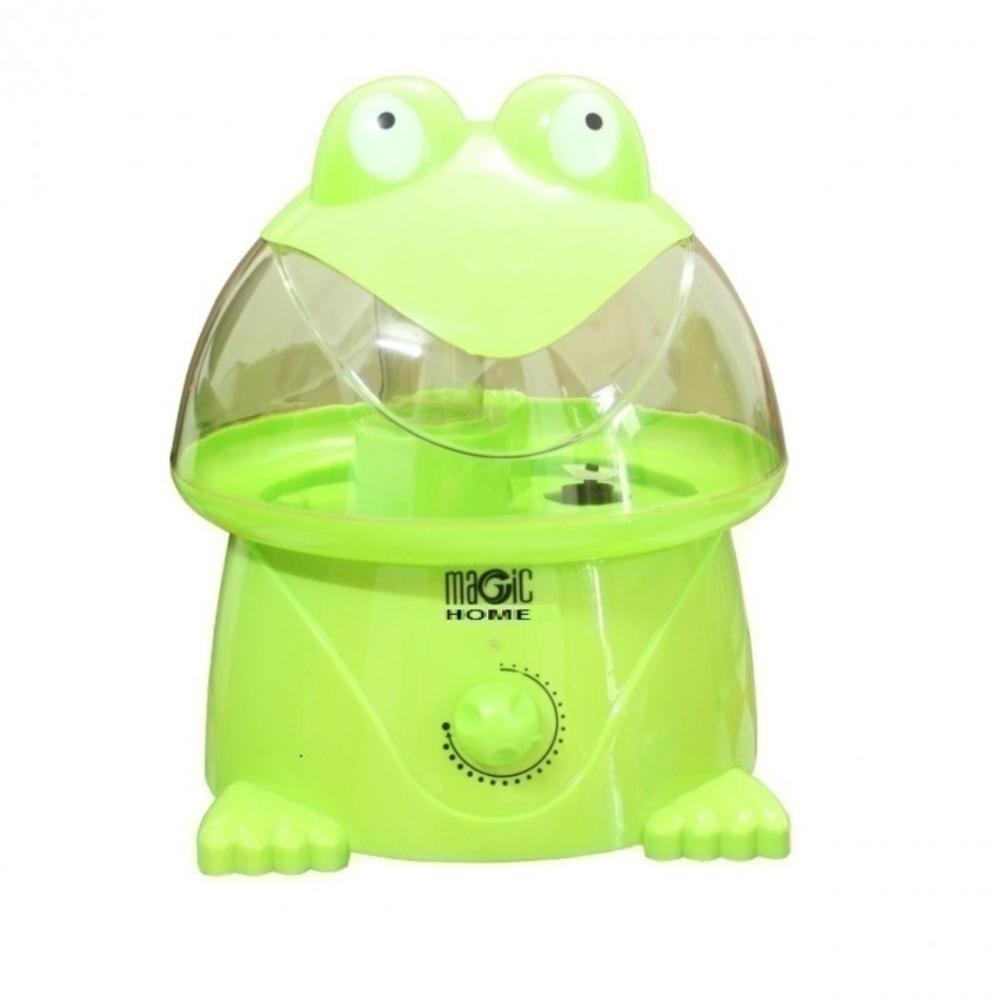 Máy phun sương tạo ẩm hiệu Magic Home hình ếch (Xanh lá)