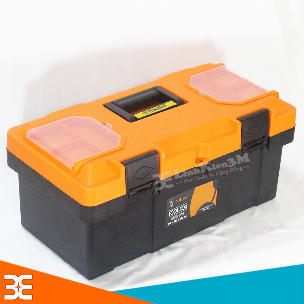 Hộp đựng dụng cụ, thiết bị đa năng Loại To - Xịn (400x240x210mm)