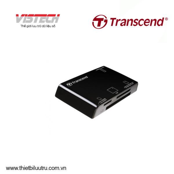 Đầu đọc thẻ nhớ Transcend RDP8 USB 2.0