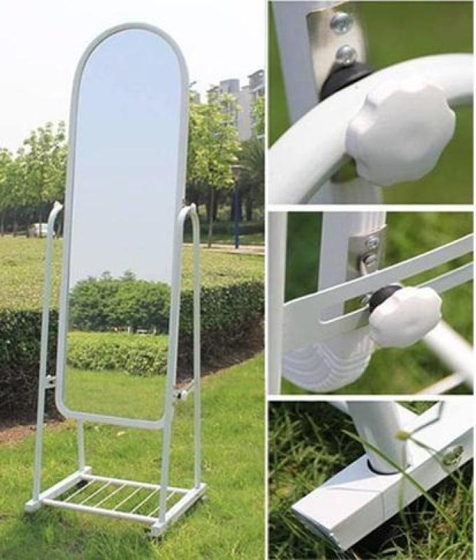 Gương di động kích thước 160x44cm (trắng) - (BQ298-TRANG)