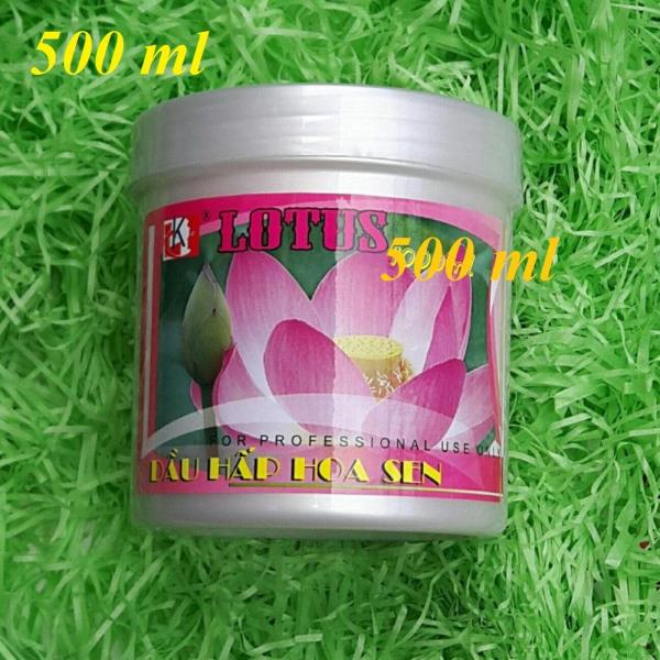 Kem Hấp Dầu Hoa Sen Lotus 500ml - Thanh Loan