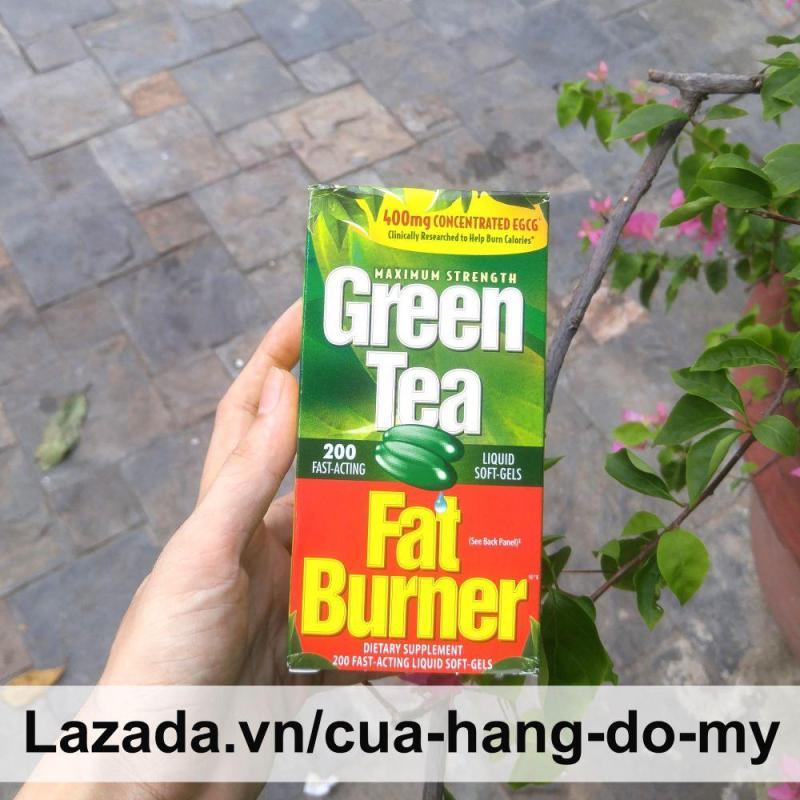 Viên Thực Phẩm Hỗ Trợ  Giảm Cân Từ Trà Xanh Green Tea Fat Burner Của Mỹ 200 viên - giảm cân an toàn, hiệu quả, khoa học từ Mỹ