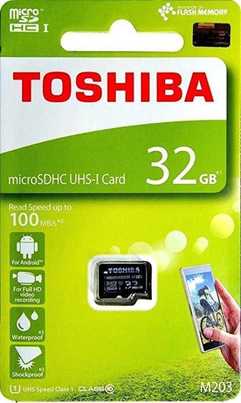 thẻ nhớ Toshiba MicroSDHC 32gb 100mb