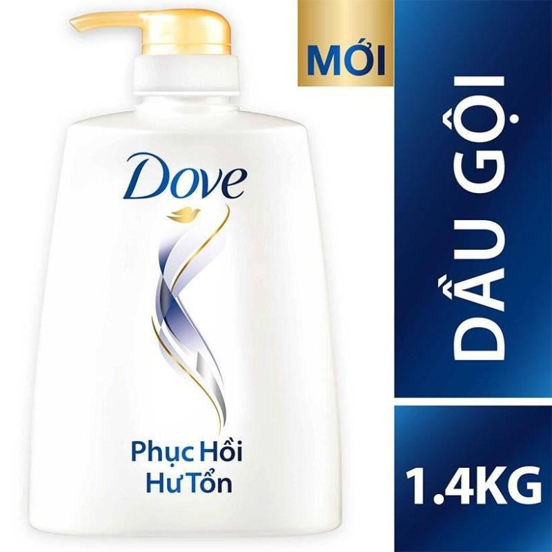 Dầu gội Dove chăm sóc tóc hư tổn 1400ml giá rẻ