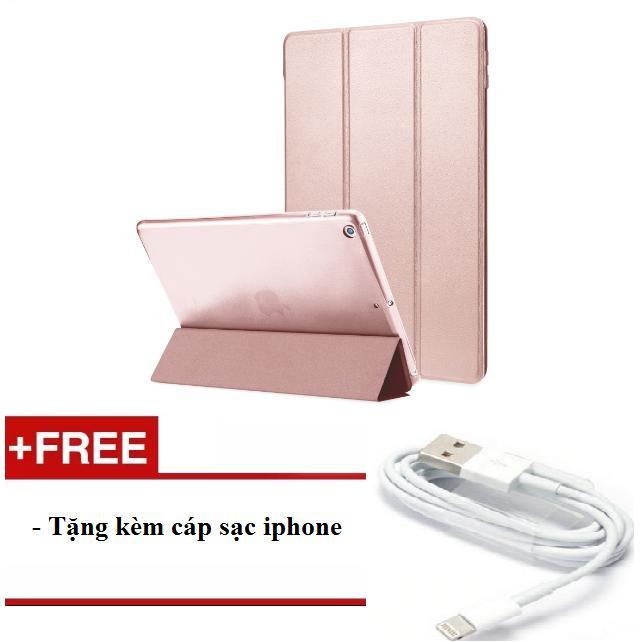 Hình ảnh Bao da cho ipad mini 123/ Ipad mini 4/ Ipad air/ Ipad air 2/ Ipad new 2017/ Ipad 234/ Ipad pro 9.7 - tặng kèm cáp sạc iphone