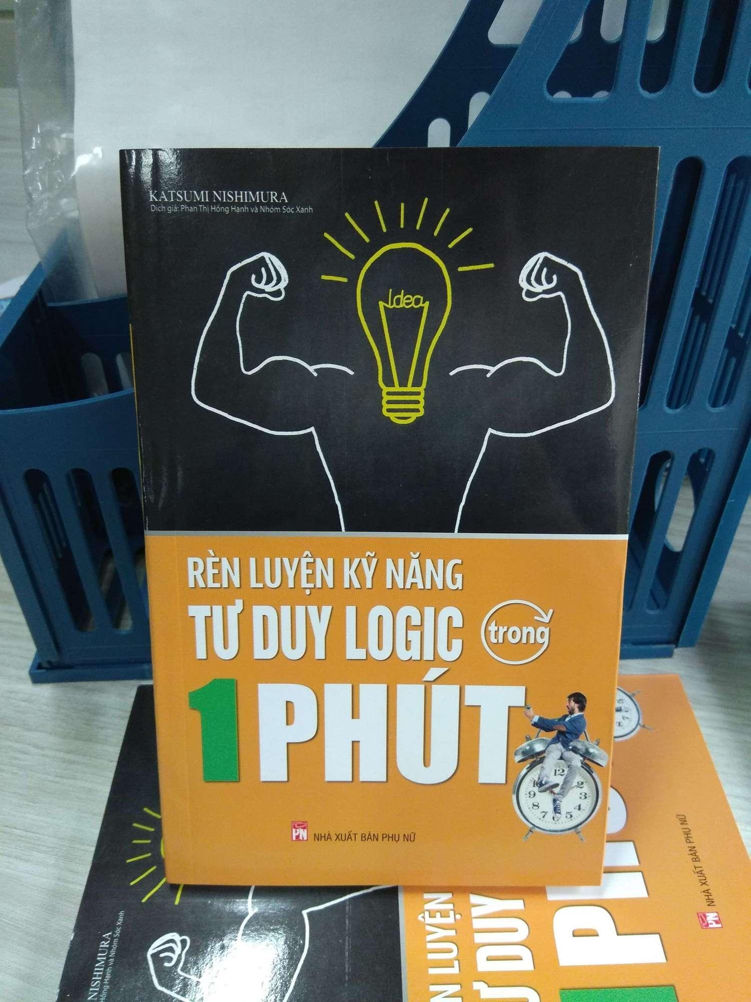 Mua Sách Rèn luyện kĩ năng tư duy logic trong một phút thương hiệu MCBooks