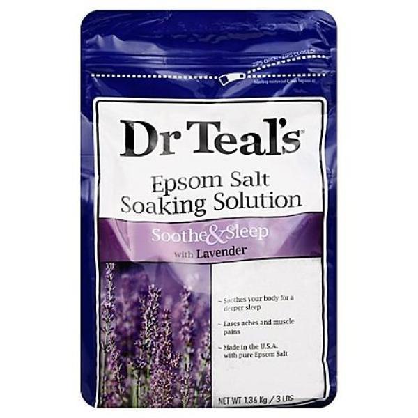 Muối Epsom Dr Teal Hương Lavender  Epsom Salt Lavender nhập khẩu