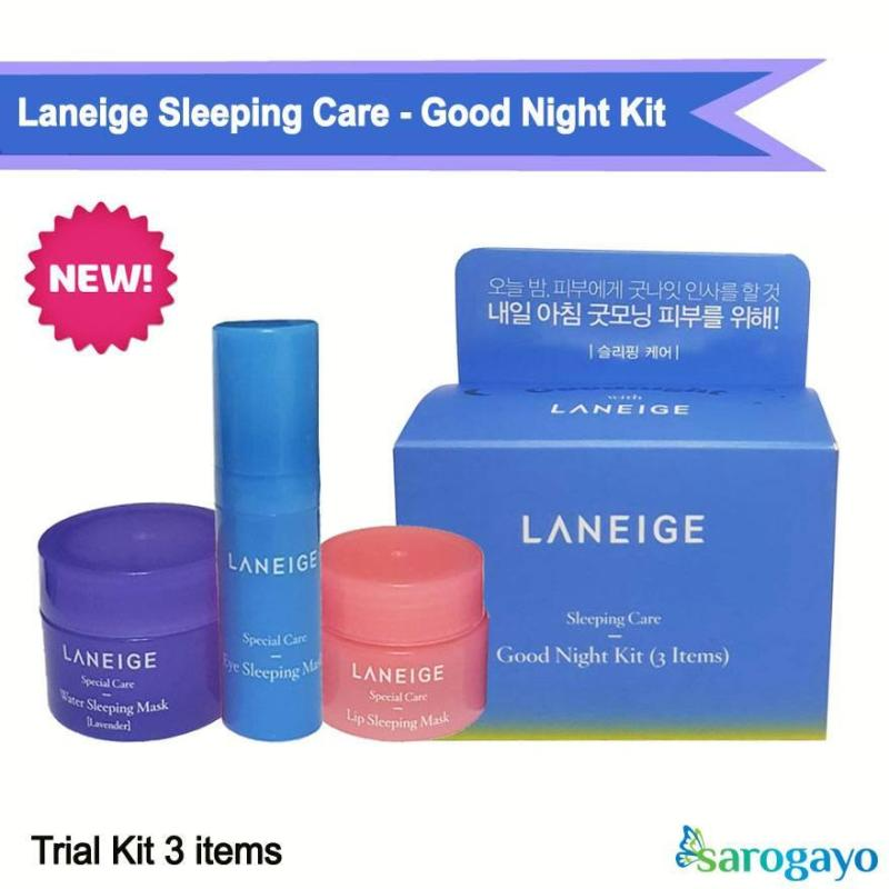 [NEW] Kit Mặt Nạ Ngủ Sleeping Care Good Night Kit [3 Items]