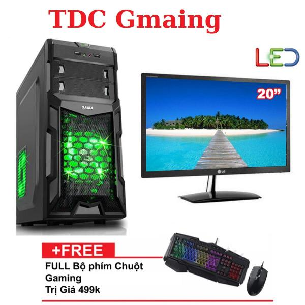 Bảng giá { FULL } Bộ máy tính game TDCGaming intel core i7 2600/ Ram 4gb/ Hdd 500gb , Màn hình LG 20 inch - Tặng phím chuột giả cơ chuyên game - Bảo hành 24 tháng 1 đôi 1. Phong Vũ