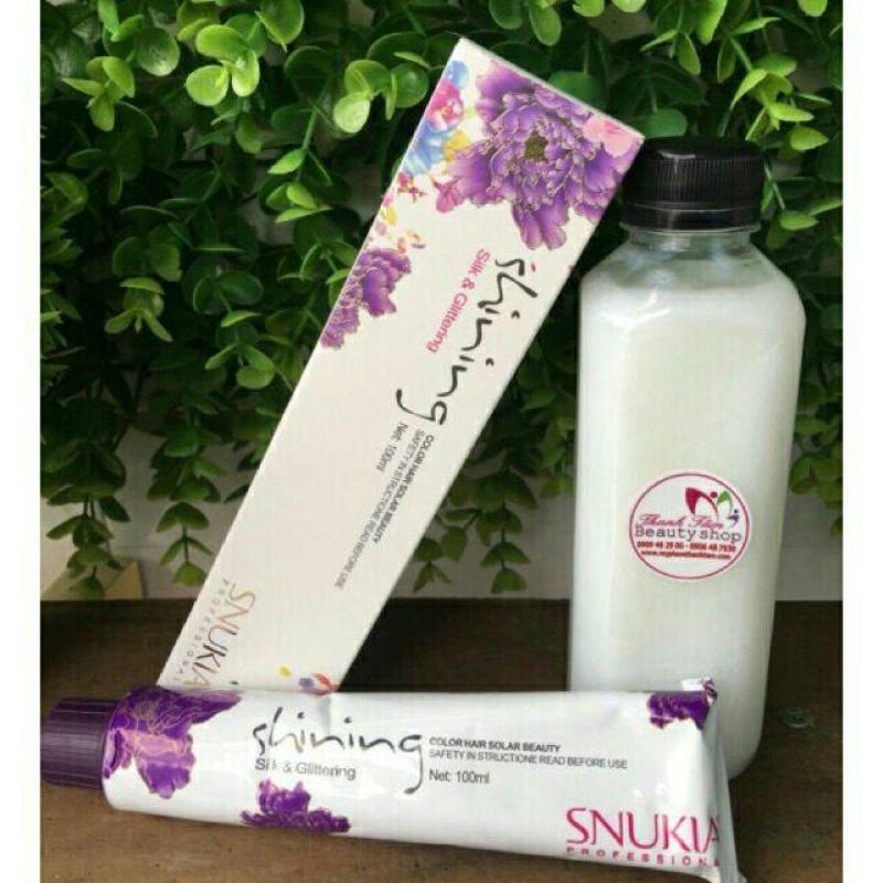 Combo thuốc nhuộm snukia 100ml +oxy novelle mini 350ml cao cấp