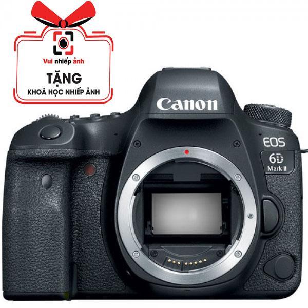 Canon 6D Mark II (Body) - Hàng Canon Lê Bảo Minh - Tặng Túi Canon Thẻ 16G - Bảo Hành 2 Năm Giá Ưu Đãi Không Thể Bỏ Lỡ