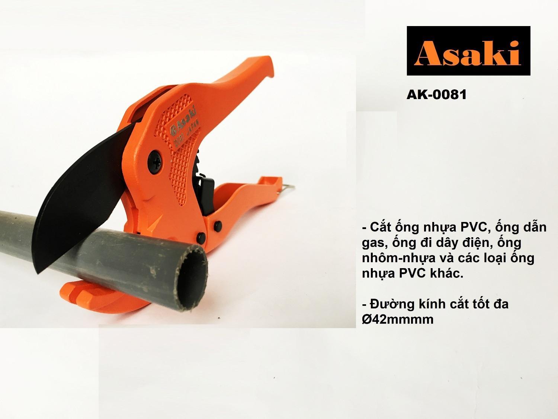 Hình ảnh Kéo cắt ống nhựa PVC Asaki AK-0081