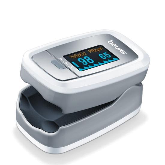 Máy đo nồng độ oxy trong máu và nhịp tim cá nhân Beurer PO30, Máy đo SpO2 Nhập khẩu Đức bán chạy
