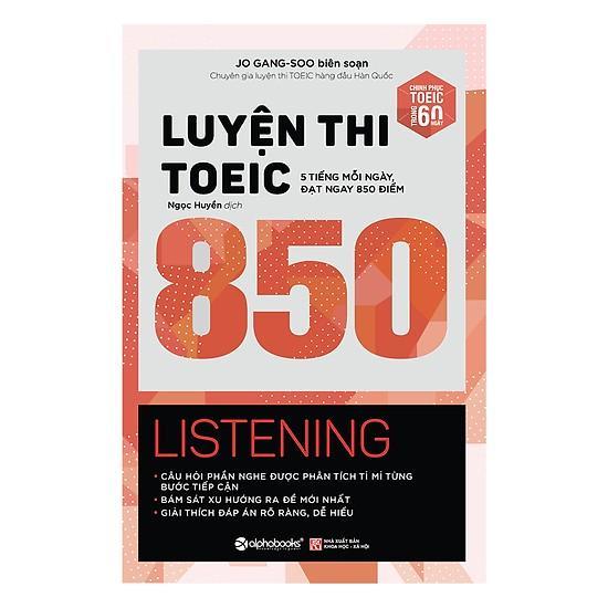 Luyện Thi TOEIC 850 Listening Giá Tiết Kiệm Nhất Thị Trường