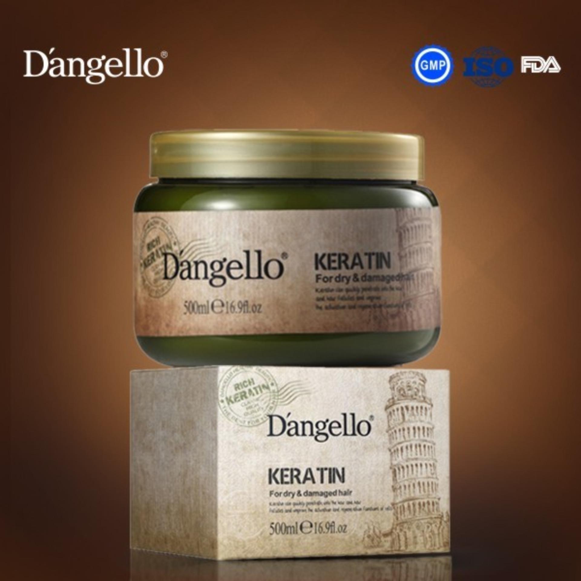 Hình ảnh Hấp phục hồi hư tổn Dangello Keratin 500ml