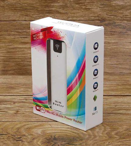 Giá Bộ phát wifi 3G/4G từ sim kiêm pin dự phòng cực khủng 2200mAh