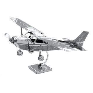 MÔ HÌNH 3D KIM LOẠI máy bay Cessna 172 đồ chơi lắp ráp thumbnail