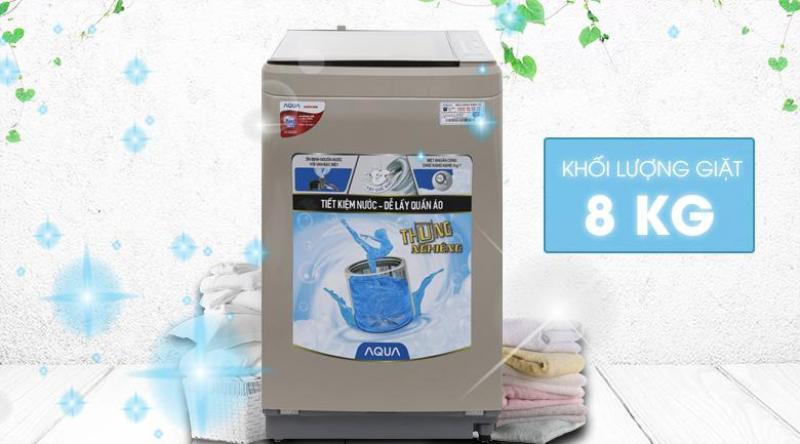 Bảng giá Máy giặt Aqua 8 kg AQW-F800BT Điện máy Pico