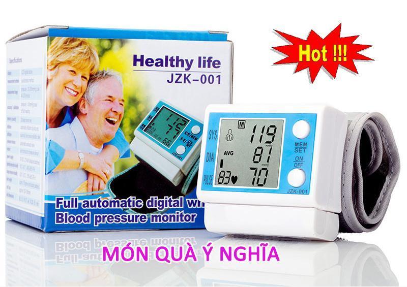Tim mua may do huyet ap, Máy Đo Huyết Áp Healthy Life JZK-001, Giảm 50% tốt nhất
